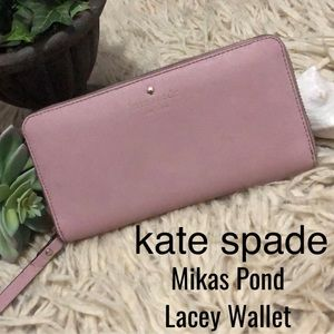 kate spade Wallet-Mikas Pond Lacey-8x4-Zip Around